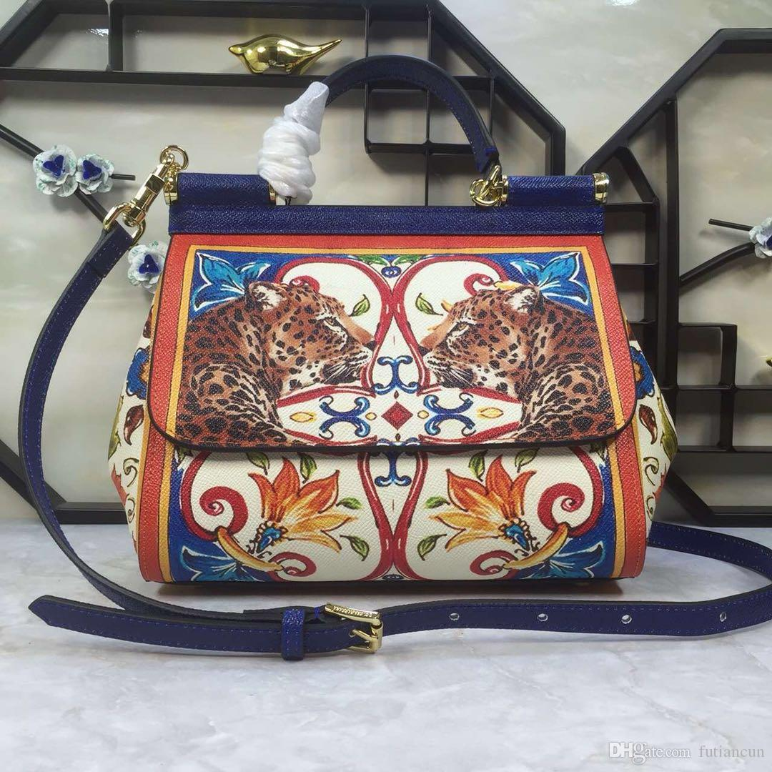 New Designer women handbags All Cow Leather Bags Durable Top End Quality 25cm width Good Package factory prices Free shipping