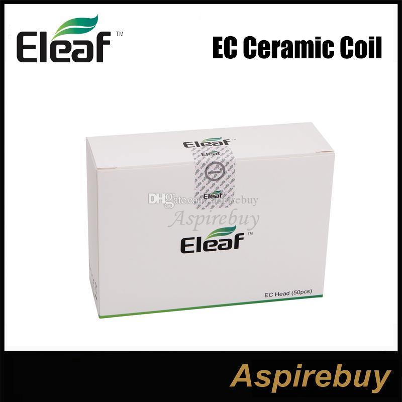 Eleaf Ijust 2 atomizerタンクのための本物のEleaf Ijust 2 ECデュアルコイル交換コイルヘッド