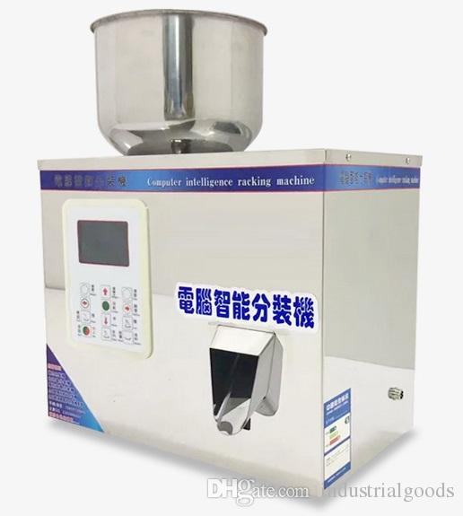 1-120g Automatic racking machine powder weighing Filling device with Strong vibration Granular Packing machine for small business