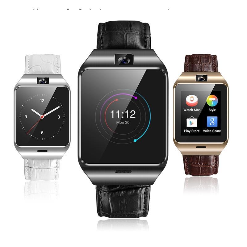QF09 3G IP67 Smart Watch Telefono impermeabile GPS SIM card TF WIFI Camera Sonno Monitor Pedometro G-sensor Microfono Smartwatch