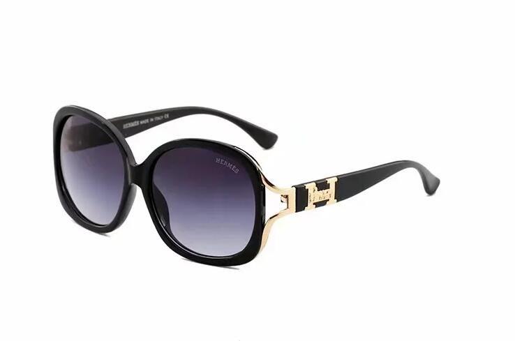 Occhiali da sole, stilisti di marca polarizzati 2018, occhiali da sole full frame, occhiali polarizzati con montatura dorata per uomo e donna e moda 319