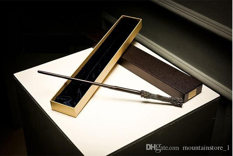 Noyau en métal de baguette magique de bonne qualité de Harry Potter dans le jouet de nouveauté de boîte de baguette de Ollivanders