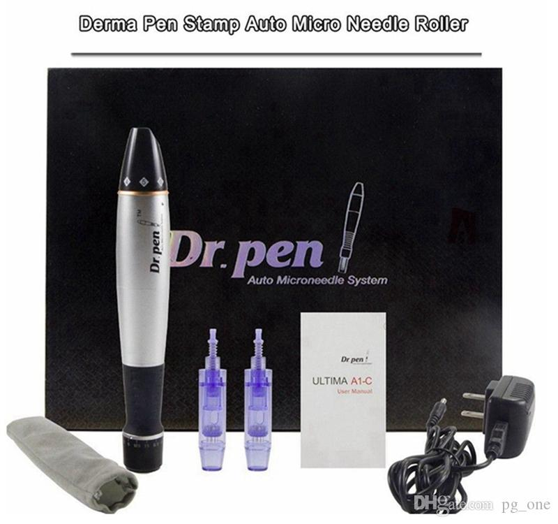 A1C Dr Pen Derma Pen Auto Electric Microneedle Roller System Adjustable Needle Length 0.25mm-3.0mm Anti Acne Skin Care