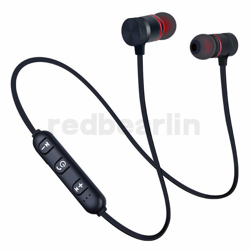 아이폰 7 8 배속 삼성 마이크 이어셋 귀에 음악에 자기 무선 블루투스 이어폰 핸즈프리 이어폰 BT4.1 스테레오 스포츠