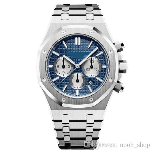 Moda Sport Top Men Watch alta qualità del Mens meccanico automatico VK Movimento al quarzo Cronografo Orologi 3atm orologio impermeabile