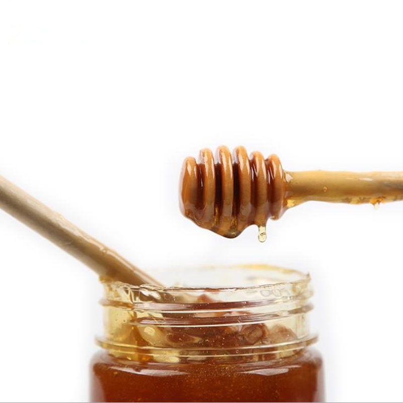 8 سنتيمتر 10 سنتيمتر 15 سنتيمتر مصغرة خشبية العسل عصا الخشب ملعقة عصا العسل قحافة العسل اثارة بار حزب التموين مقابل كيس التغليف سريع مجاني