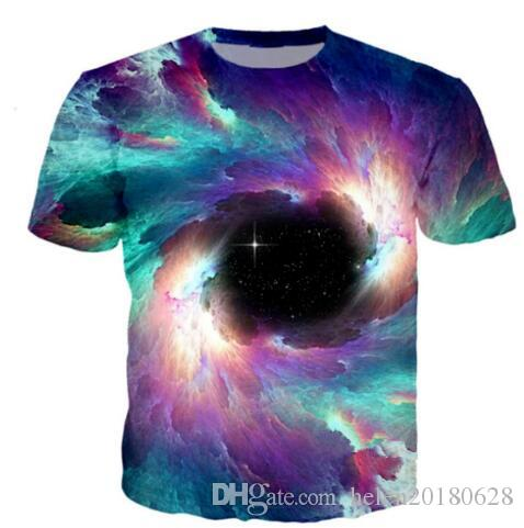 New Fashion Women/Men Psychedelic Vortex 3D Print Graphic T Shirts Short Sleeve Quick Dry Tees Comfortable Hip Hop Tops Clothing