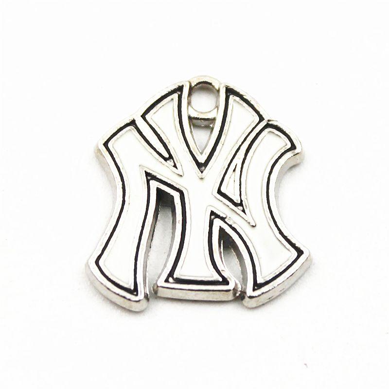 20pcs Baseball Team Logo Floating Dangle Charms Pendant For Women Necklace Chain Bracelet Jewelry