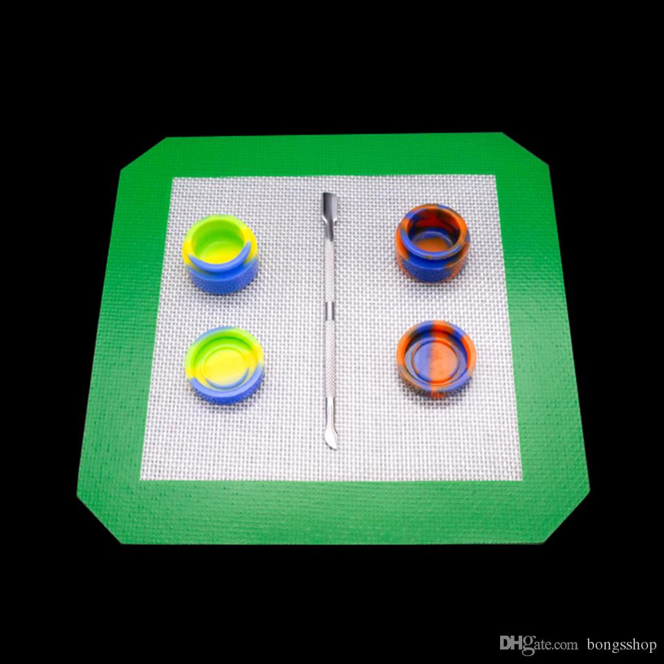 Dab strumento berb berb silicone pad accessori fumo Vetro Dabber Strumento cera vetro olio rig Dab Stick Carving strumenti Per chiodi Vapor E
