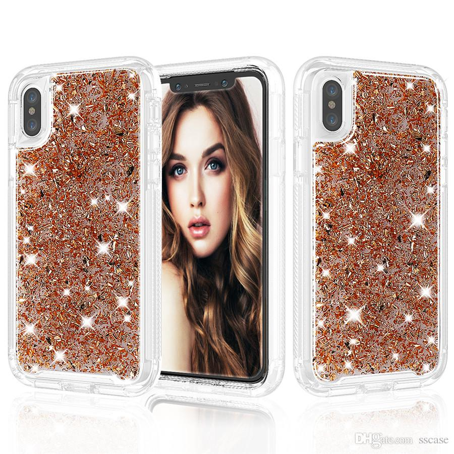 IPhone 6s Plus Bling Glitter Cover Case