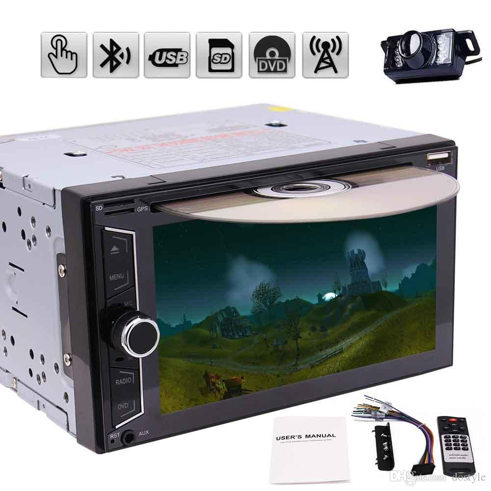 Eincar car audio in dash 6.2'' double din Car dvd Radio Stereo no GPS Navigation Headunit Recorder Player Car Receivers automagnitol