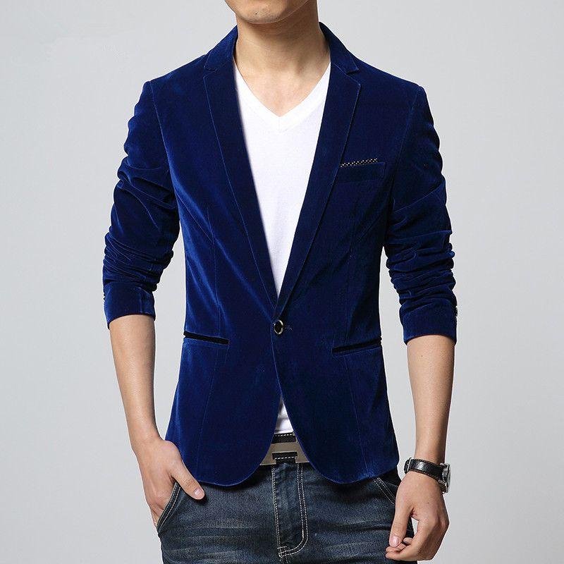 2017 autumnwinter الحلل الرجال أزياء الرجال السترة البدلة اللباس الدعاوى الكورية سليم الرجال سترة الصين الحجم 48 / M-58 / 4xl O110