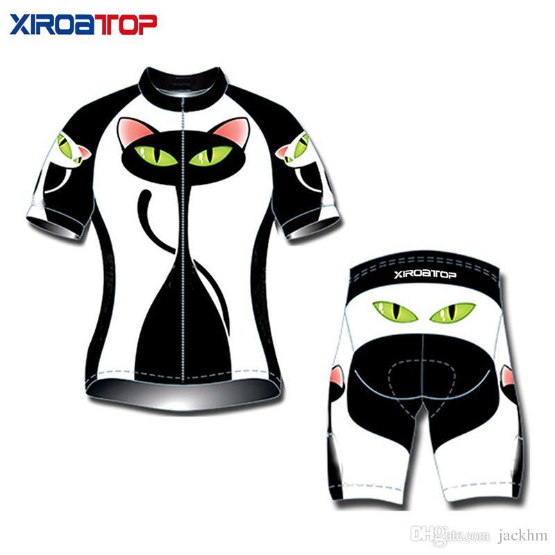 Özel kadınlar OEM / ODM Bisiklet Jersey Seti şort Dağ Bisikleti Giyim MTB Bisiklet Giyim Maillot Ropa Ciclismo Bisiklet Set Giymek