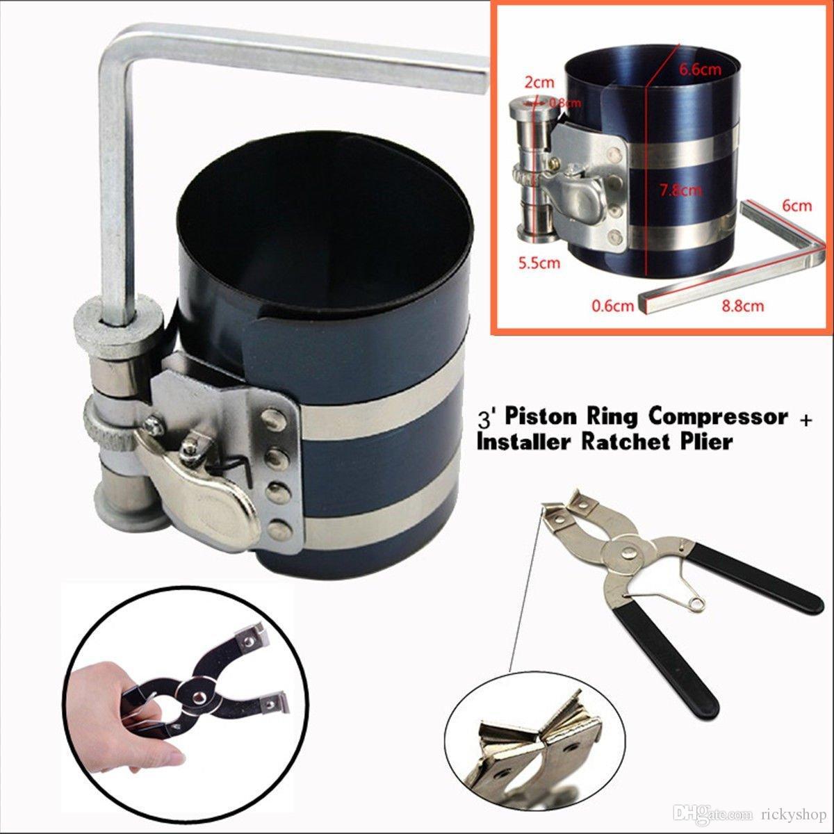 Moteur Piston Ring Pince Installateur Outil Pour Anneaux Pince Remover Expander