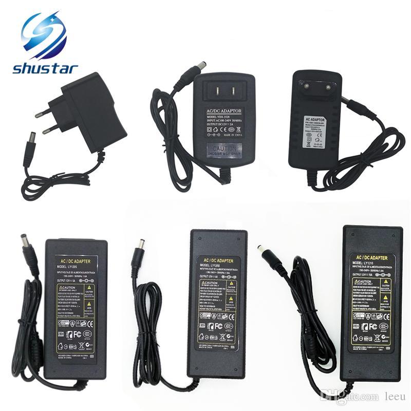 Светодиодный адаптер импульсный источник питания 110-240 В AC DC 12V 2A 3A 4A 5A 6A 7A 8A 10A 12.5 A Led Strip light 5050 3528 трансформатор адаптер освещения