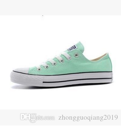 2018 nouveau prix promotionnel usine! chaussures de toile des femmes et des hommes, haut bas Style Classique Chaussures de toile Chaussures de sport Chaussure de toile