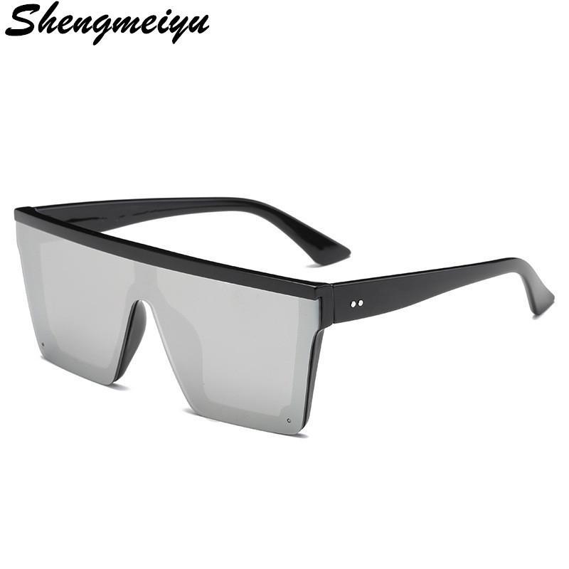 Retro Square Sunglasses Flat top Design Men Sunglasses Driving Outdoor Sport Sun Glass