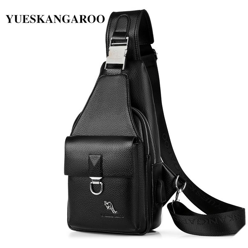 Mens Chest Satchel Messenger Bag Nylon Casual Shoulder Sling Crossbody Bag Purse