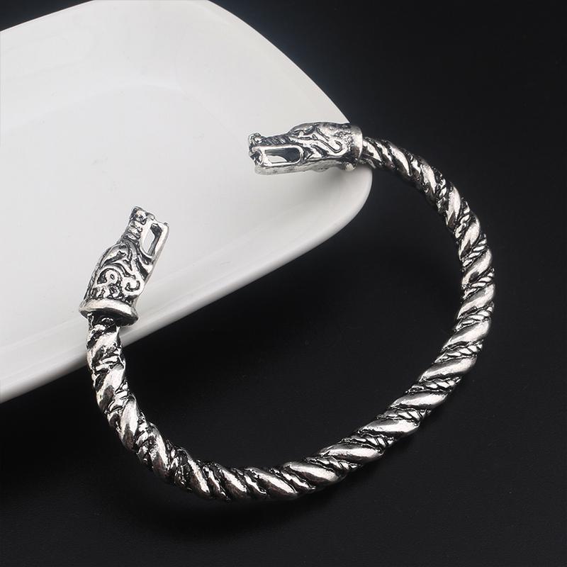 viking bracelet argent