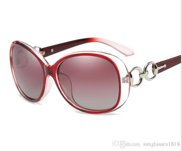 Lady Marka Kadınlar Güneş Gözlüğü Kadın Lens Gözlük óculos Kadınlar Tam Güneş Çerçevesi Moda Ray Degrade Retro Tasarımcı Gölge HKvee