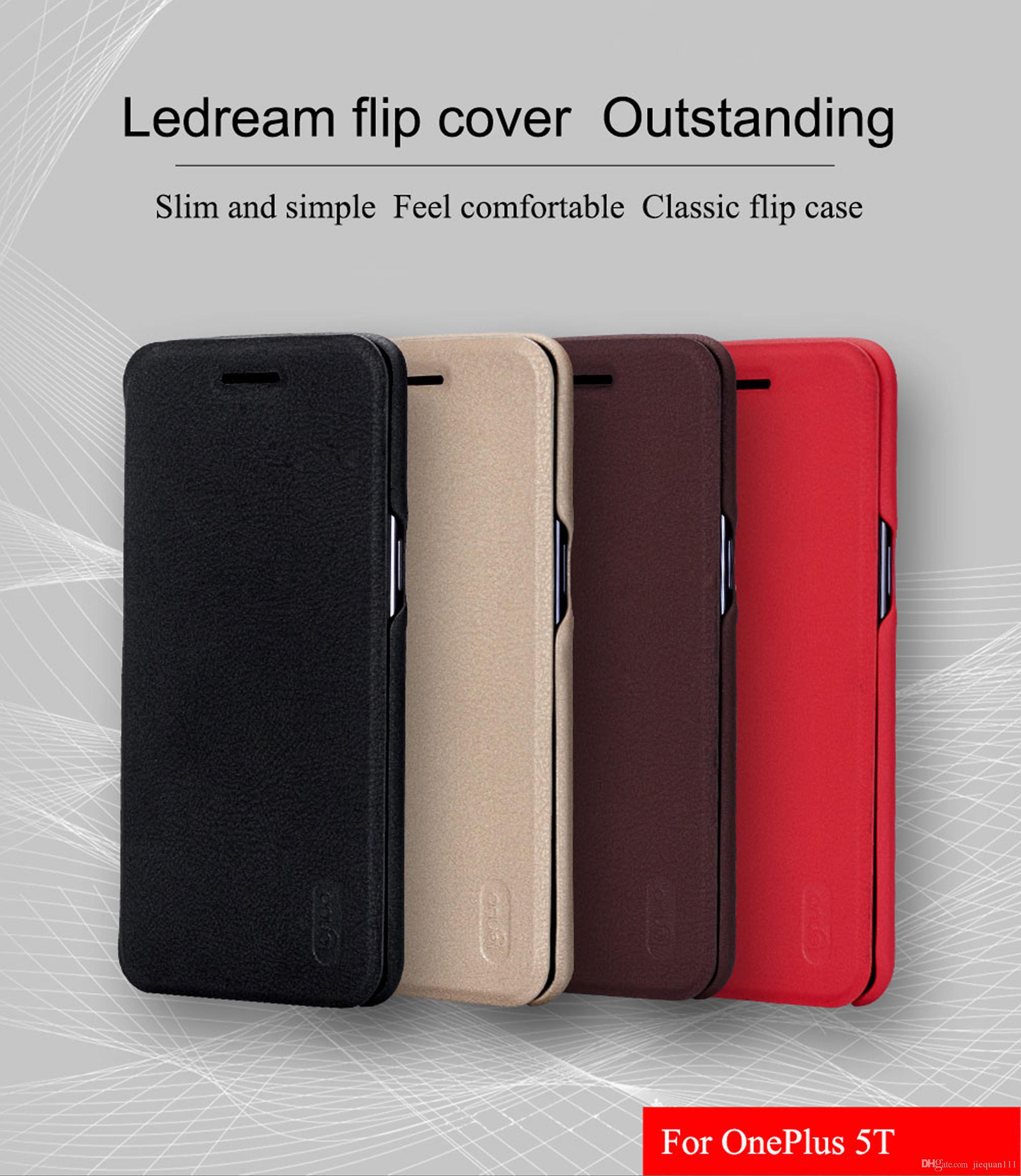 new arrival 10310 2218b Case For Oneplus 5t Lenuo Soft Pu Leather Case Flip Cover For One Plus 5t  Lid Case One Plus 5t Phone Bag Cover Glitter Cell Phone Cases Cell Phone ...