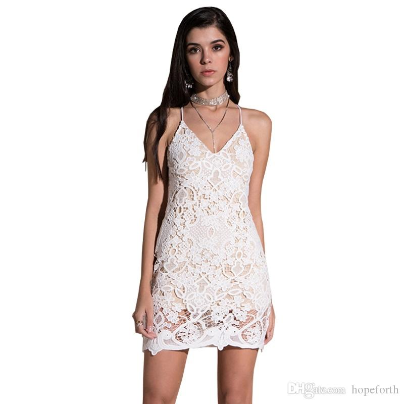 Dresses Lace Women Dress Sexy Sheath Sleeve Length Foral Blin26 Sexy & Club Women Free Shipping Lady Dress Beach Dresses