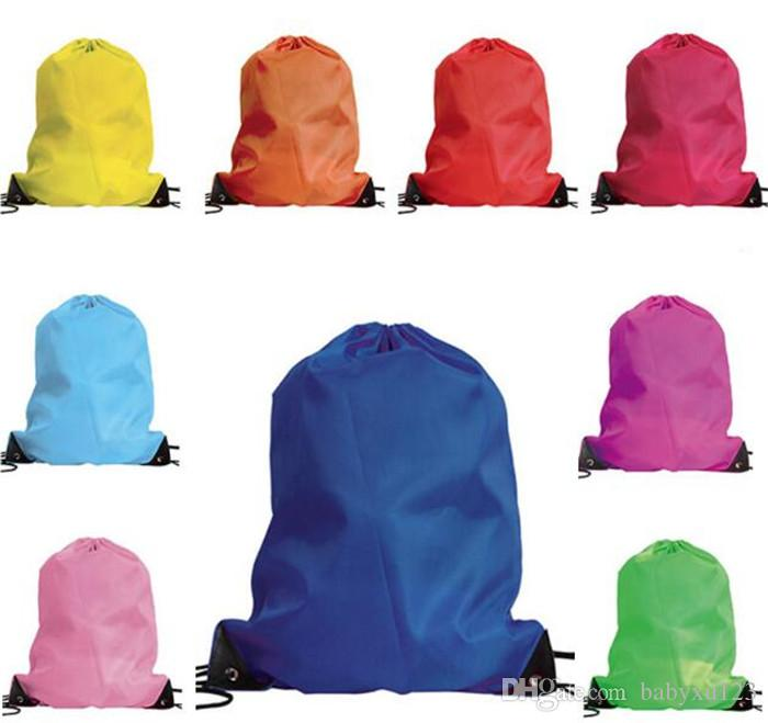 ملابس أطفال أحذية حقيبة الرباط المدرسة المجمدة رياضة الصالة الرياضية حقائب الظهر الرقص المحمولة Y235