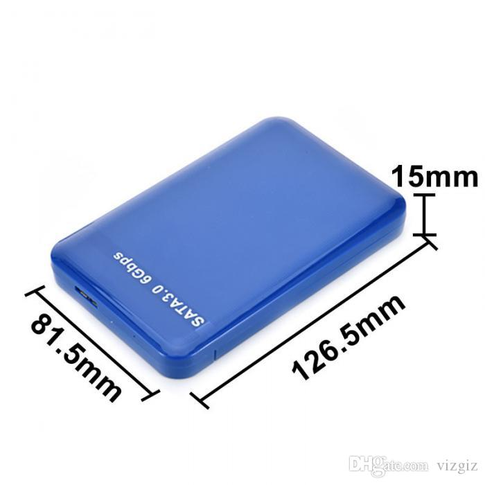 "2.5/"" USB 3.0 SATA Hard Drive External Enclosure 3TB 6Gbps HDD SSD Disks Case Box"