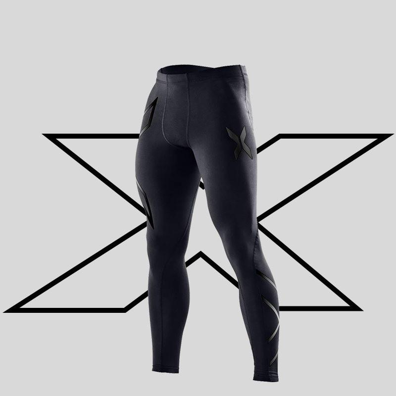 Sıkıştırma pantolon erkek Sonbahar ve kış koşu tayt pantolon spor pantolon elastik maraton çabuk kuruyan bisiklet tayt pantolon