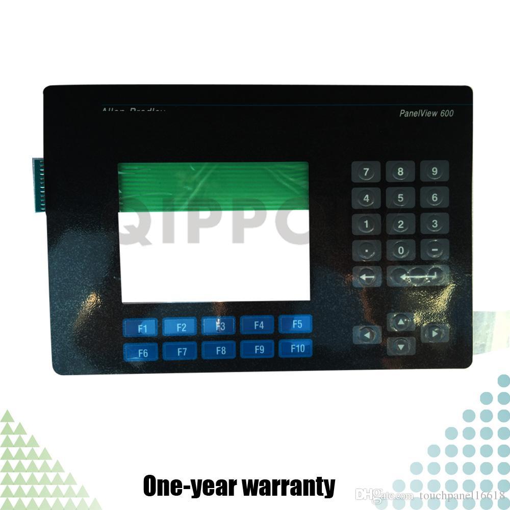 PanelView 600 2711-B6C15 2711-B6C15L1 Neue HMI-SPS Tastatur Folientastatur Industrielle Steuerung Wartungsteile