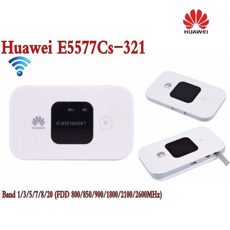 Huawei E5577 4G LTE Cat4 e5577cs-321 Mobile Hotspot Wireless Router wifi pocket mifi dongle