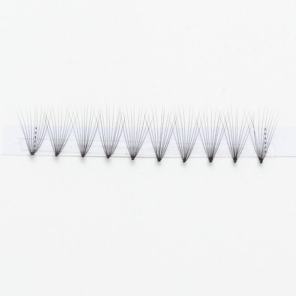 Big EYE' s SECRET Premade вентиляторы 10D средний макияж красоты настроить бренд Premade вентиляторы объем ресниц макияж инструменты Оптовая ресницы