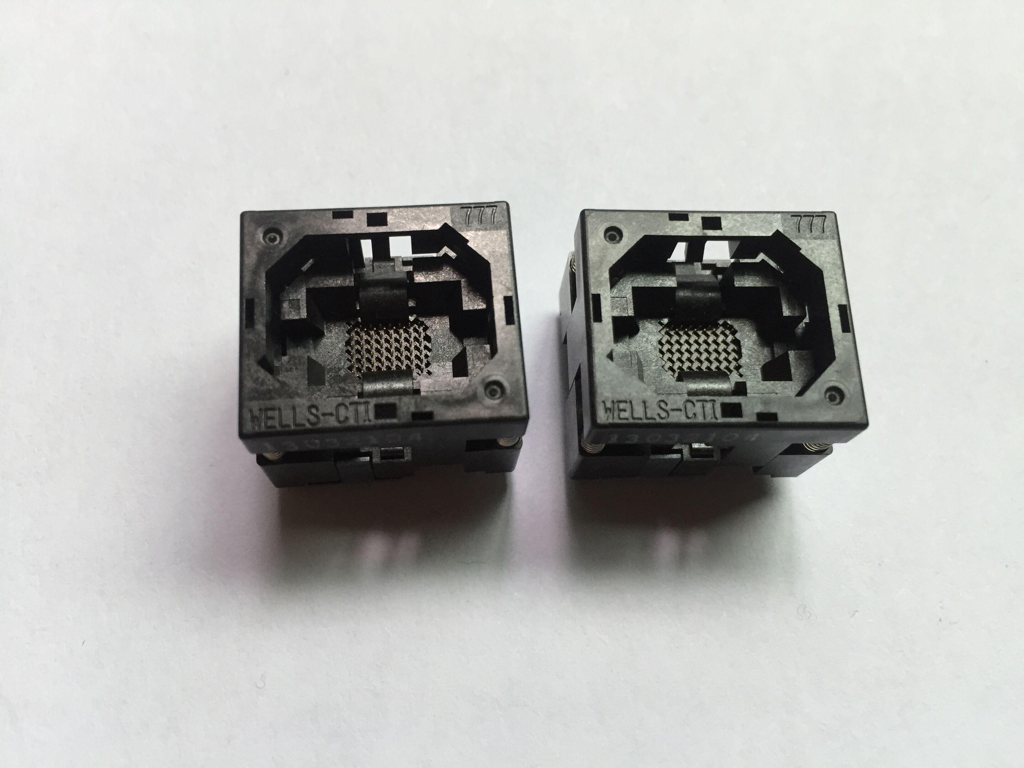 Wells CSP soket Soket 777A1048H111C BGA48Pin 0.8mm Pitch 8.15x6.15mm Burn'ü sıkıştırın