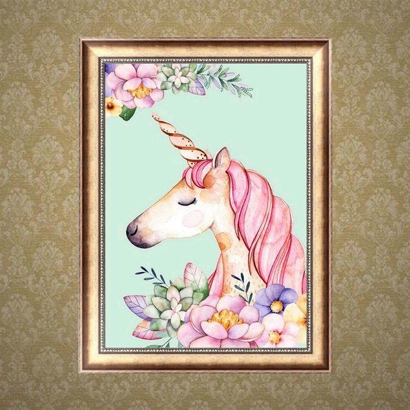 DIY 5D Diamond Embroidery Painting Flower Retro Cross Stitch Home Decor Craft DE