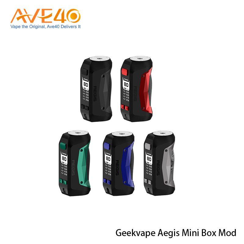 جهاز Geekvape Aegis Mini Mod 80W المدمج في بطارية بقوة 2200 مللي أمبير في الساعة مع حماية ضد الصدمات والغبار بنسبة 100٪
