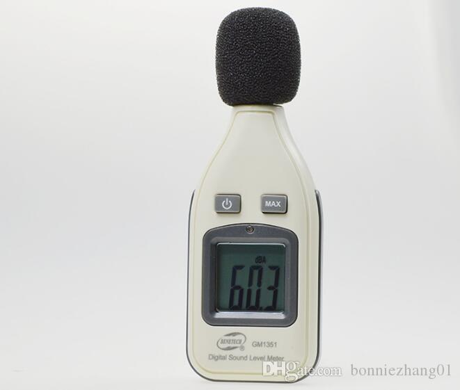 30-130dB LCD Digital Sound Level Decibel Meter Logger Tester Noise Measurement GM1351