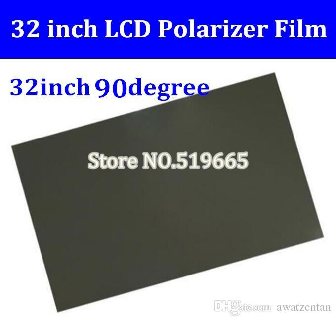 Nuovo 32 pollici 32 pollici 90 gradi lucida 709MM * 405mm LCD polarizzatore pellicola polarizzante per TV LCD LED IPS schermo per la TV