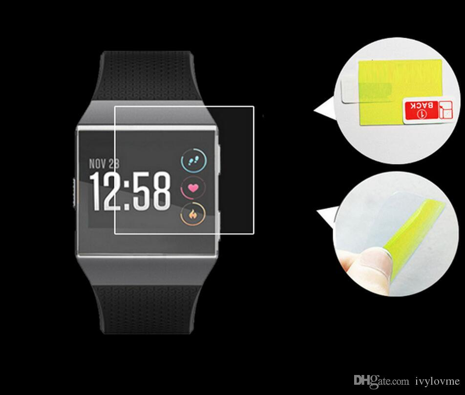 Премиум Ясная Пленка Протектор Экрана Для Fitbit Ионные Наручные Часы Мягкие Защитные Пленки Чехол Не Закаленное Стекло