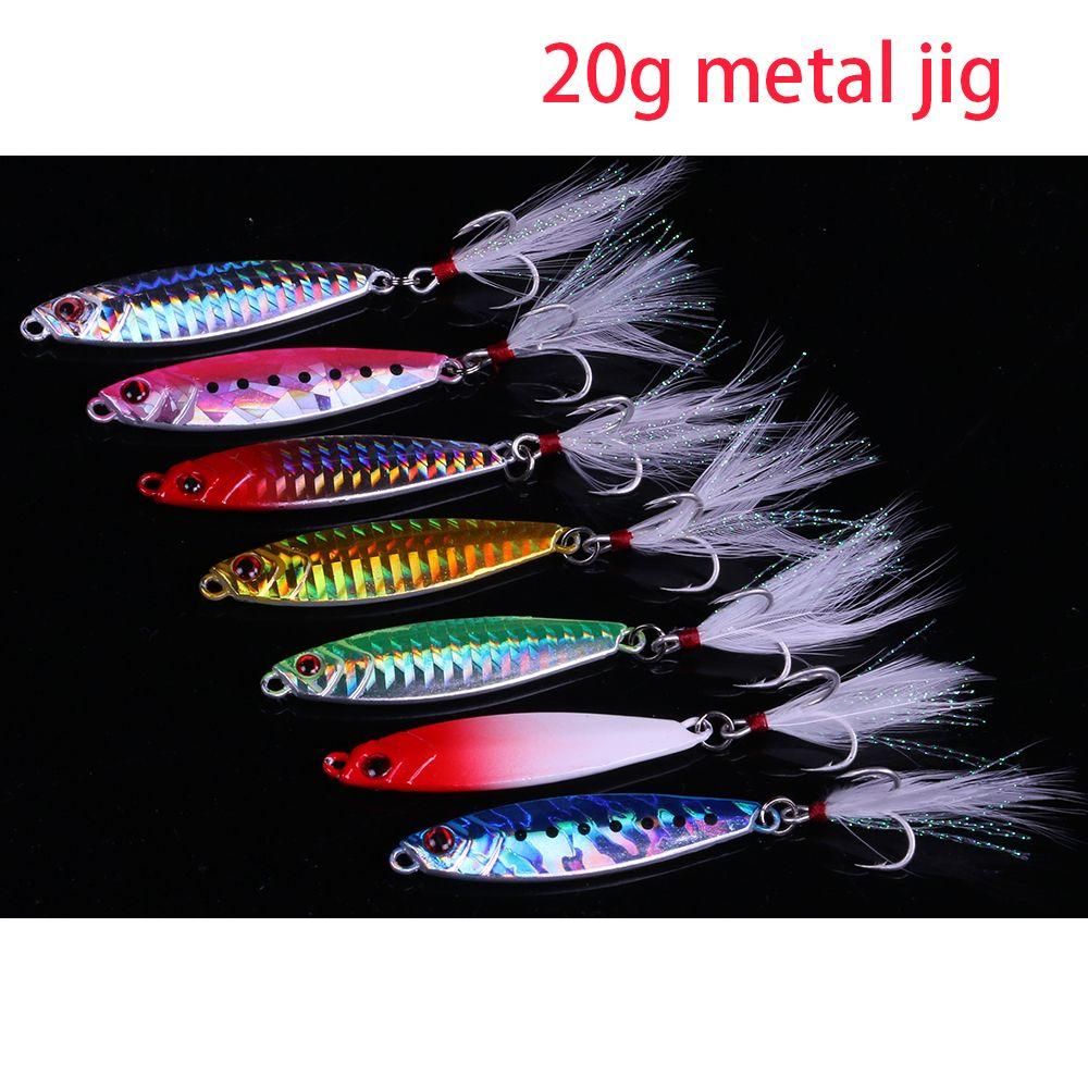 Crank Bait Feather Treble Hook Spinner für Löffel Angeln Metall Lures