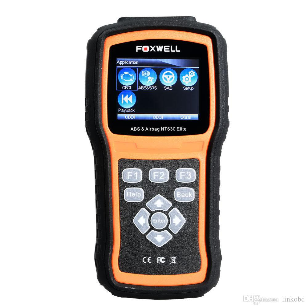 Foxwell NT630 Elite OBDII Car Diagnostic Scan Tool Support Engine ABS SRS Airbag SAS System Special Functions