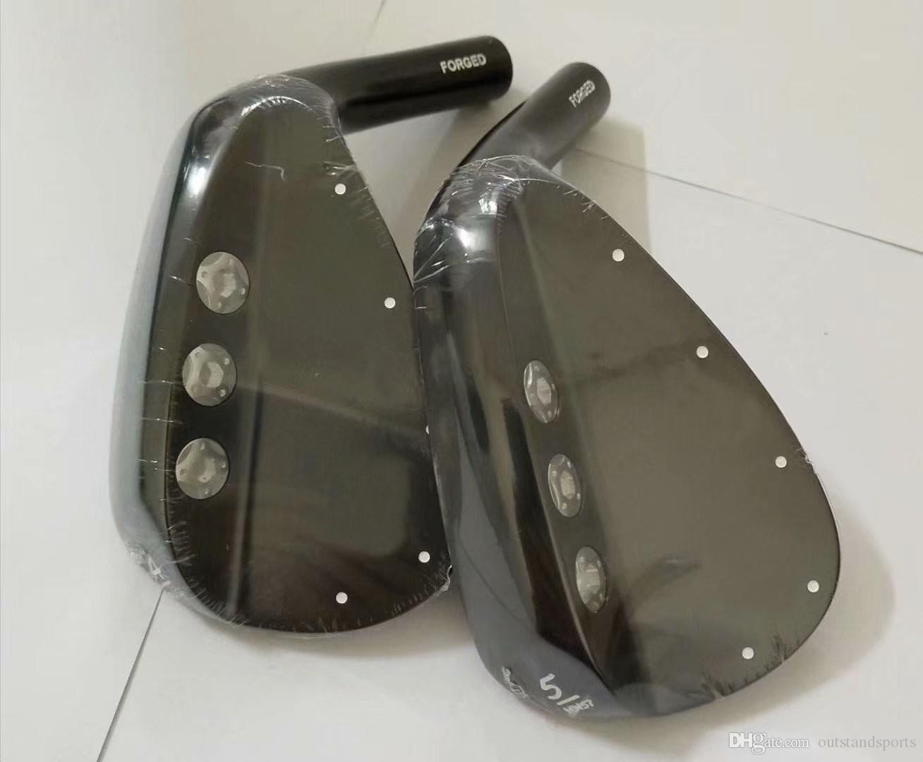 JB501 schwarz fertiger Golfeisenkopfsatz (7pcs / lot) 6-9,1-3 # Weicheisen geschmiedeter Golfeisenkopfsatz Tropfenverschiffengroßverkauf Soem vorhanden