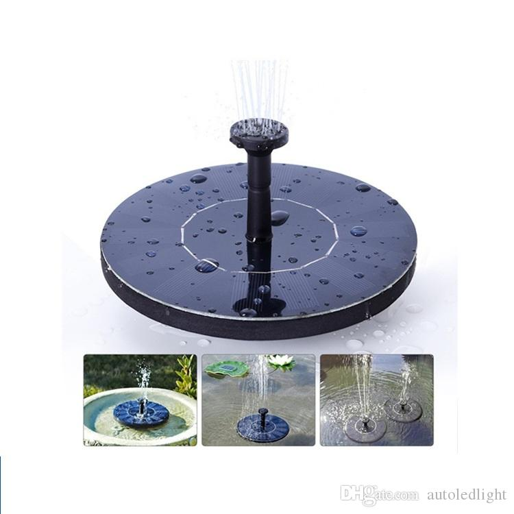 New solar Water Pump Power Panel Kit Fountain Pool Garden Pond Submersible Watering Display with English