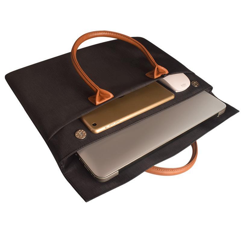 Laptop Bag 15.6 inch Bolsa para portátil a prueba de agua para Macbook Air Pro 13/14/15 Laptop Sleeve Women Me