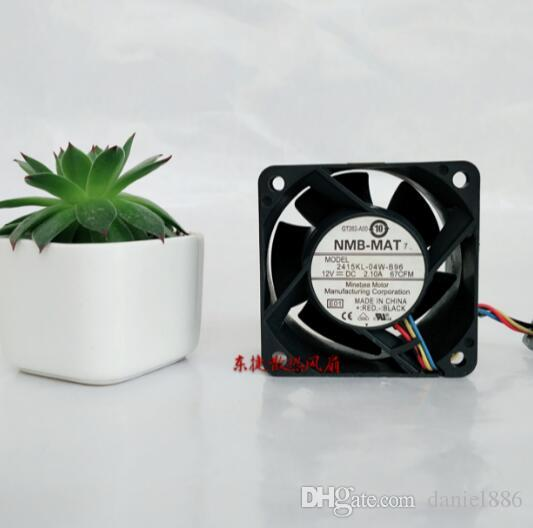 NMB 6038 12V 2,1A 6cm PWM quatre régulation de la température fil grand volume d'air 2415KL-04W-B96 ventilateur de serveur