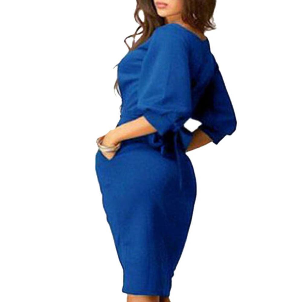 Womens-Long-Sleeve-Clubwear-Formal-Evening-OL-Mini-Dress-Bodycon-Hot-SHM4 (4)