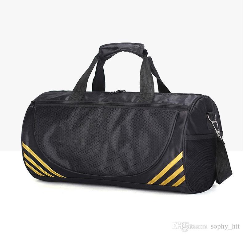 도매 요가 가방 단일 어깨 핸드백 실린더 태권도 가방 여행 가방 피트니스 키트 가방 더플 백