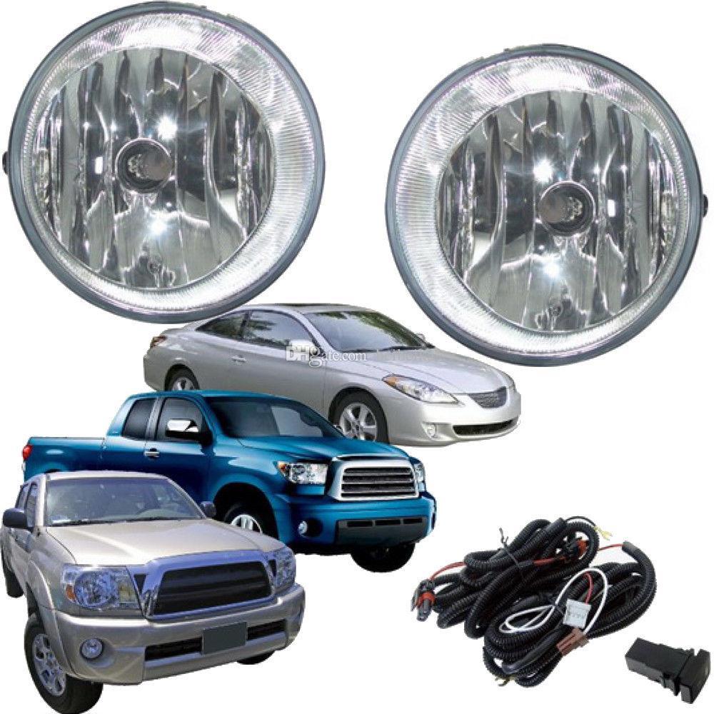 Автомобиль Противотуманные фары для TOYOTA TACOMA 2006-2008 / 2011 Передние противотуманные фары Бампер лампы Kit Переключатель подключения (один пара)