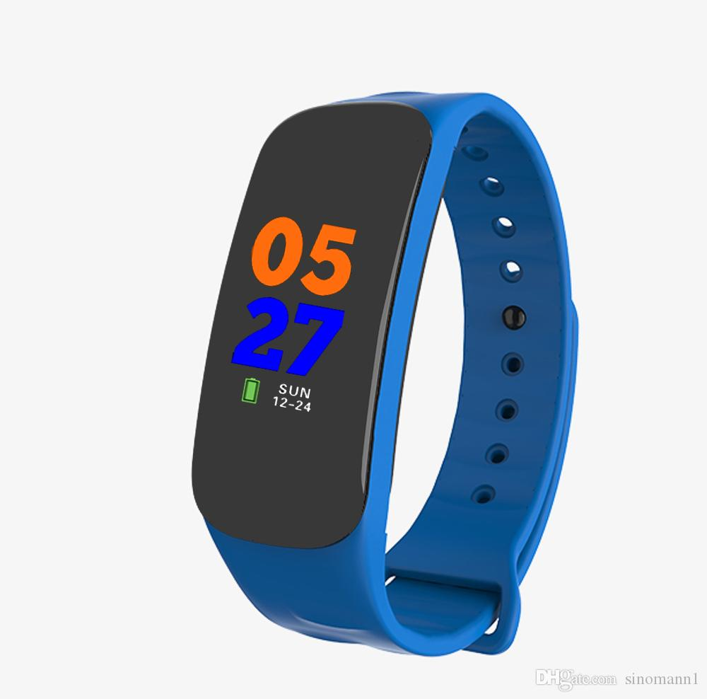 Smart Wristbands C1 Fitness Bracelet 2 Pedometer Heart Rate Monitor Fitness Bracelet Blood Pressure for Xiaomi MI BAND