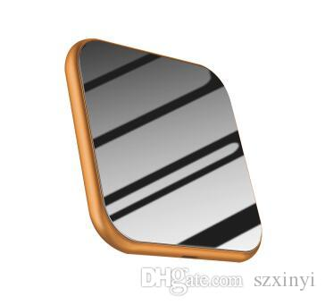 New Mirror Wireless Charger For iPhone X 8 Plus Fast Charging for Samsung S9 Note 8 Mobile Phone Charger 10W QI Wireless Charger