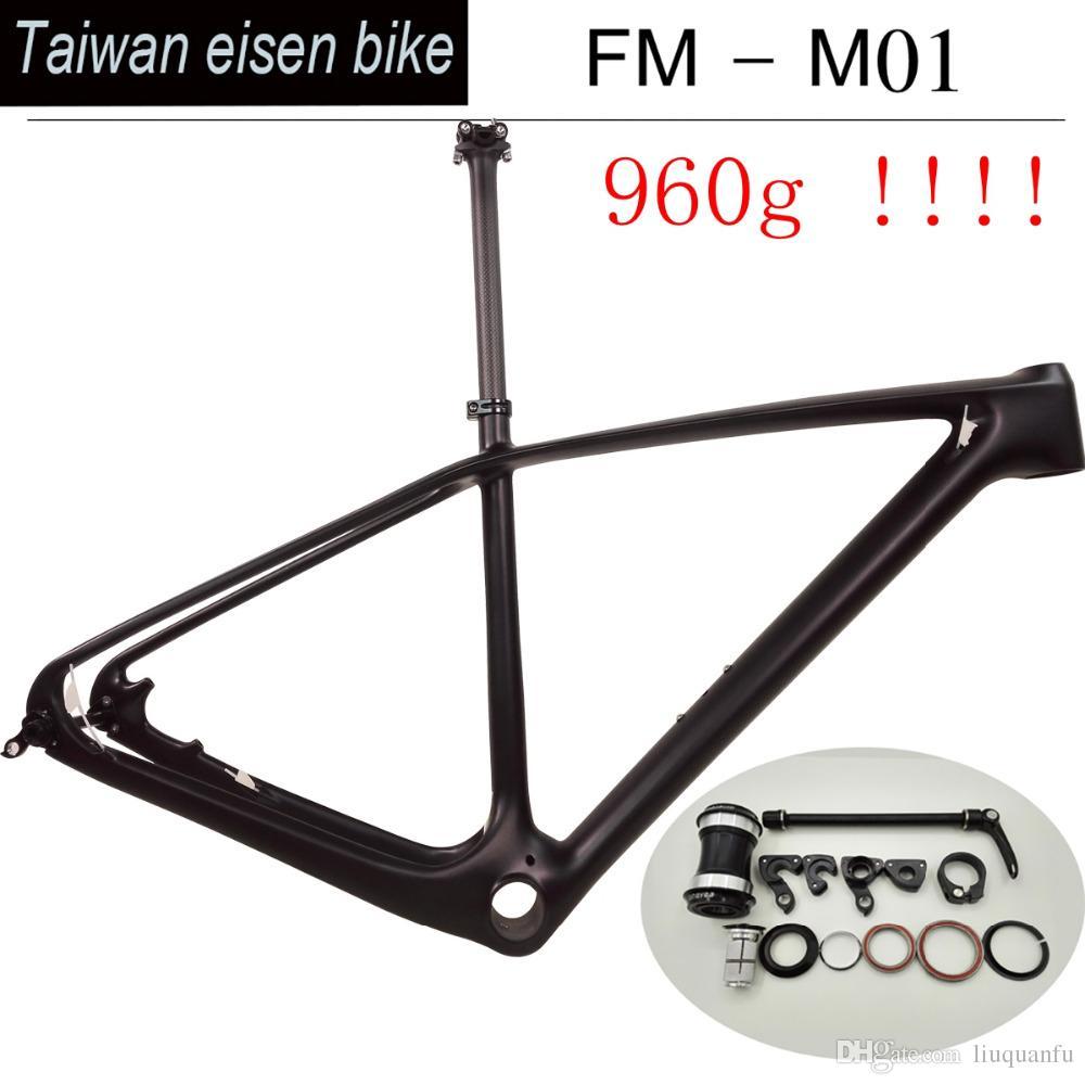 27.5er 29er Carbon MTB Bicycle Frames T1000 Full Carbon Mountain Bike Framesets